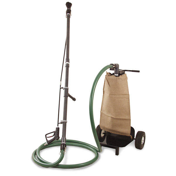Pit Cleaning Suction System With Vacuum and Filter Bag