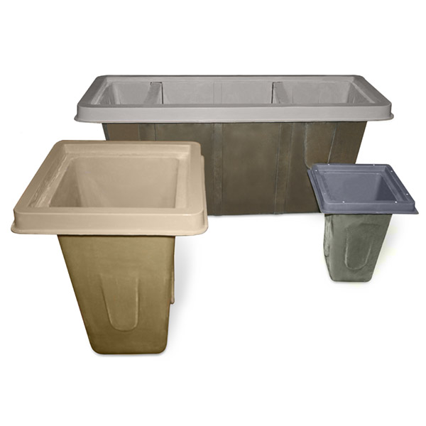 Sump Pits and Catch Basins, Plastic in Ground