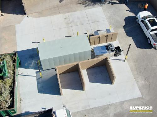 Aerial view of the SCE BIO